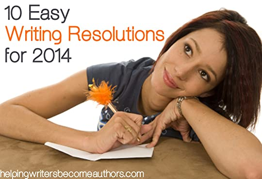 easy writing resolutions for 2014