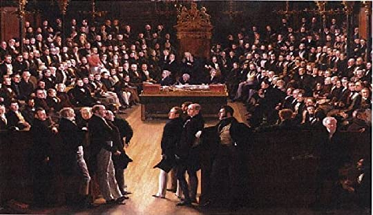 Sir George Hayter painting of the Common in 1832, debating the Great Reform Bill
