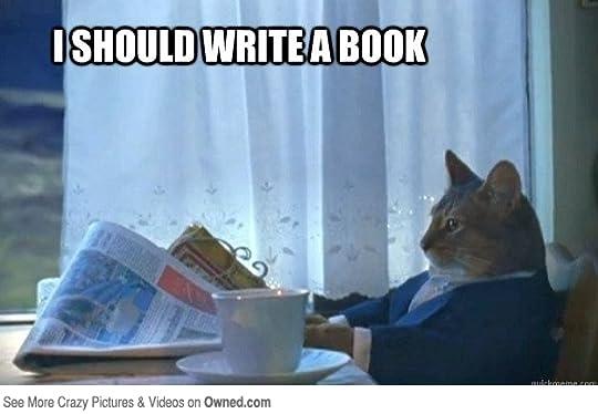 I should write a book