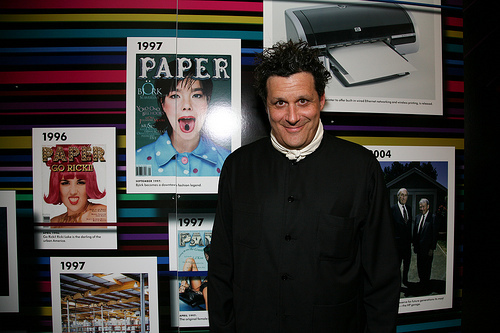 Isaac Mizrahi at HP PAPER Party