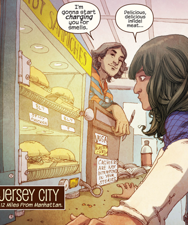 Ms  Marvel (2014-2015) #1 by G  Willow Wilson