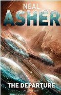 Image: Cover of The Departure, by Neal Asher