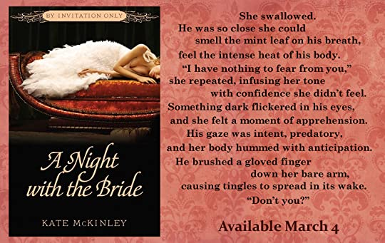 A night with the bride by invitation only 3 by kate mckinley mar 04 2014 kate mckinley added it stopboris Choice Image