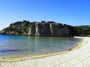 Stunning Voidokoilia beach