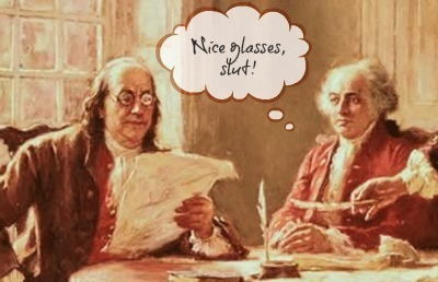 Ben Franklin and John Adams