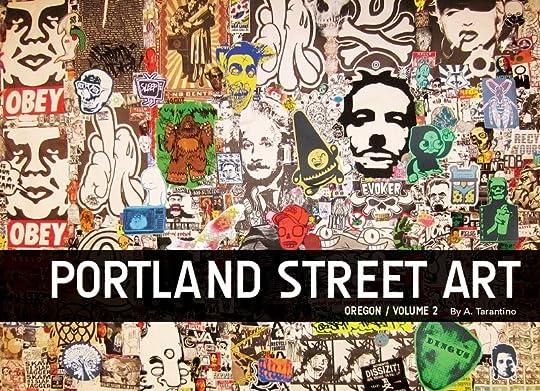 Portland Street Art Graffiti Book Volume Two Cover