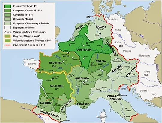 """carolingian dynasty and frankish king charlemagne His name was charlemagne, king of the franks, emperor of the romans, and  the  """"the hammer"""" became the founder of the carolingian dynasty (charles/ karl."""