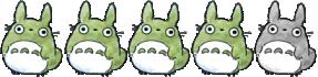 4 Totoros