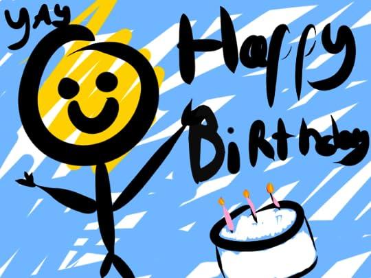 David Happy Birthday Cake