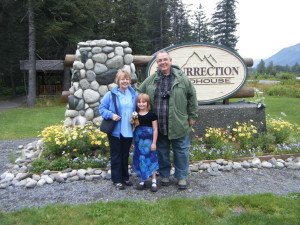 Wayne and Diane with Maddy in Seward