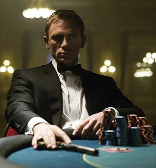Jame bond casino royale gambling brain teasers