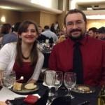 Steve and I at the Stoker Dinner