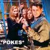 friends poking photo: friends poking stick 10pdir8.jpg