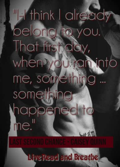 Last Second Chance (Second Chance, #1) by Caisey Quinn