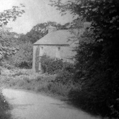 Cecily Sedgwick's home - 'Vellensagia' - in the Lamorna valley