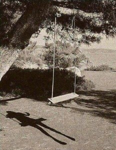 invisible swinging girl
