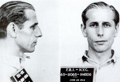 George Dasch mug shot 1942