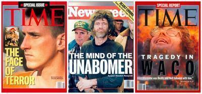 McVeigh Kaczynski Koresh Covers