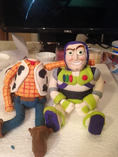 Toy Story Gum : Sarah west s toy story figures the making of may
