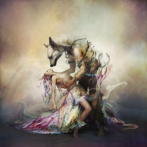 bespelled wolf