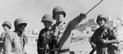 Lt Gen George Patton Sicily 1943