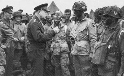 Eisenhower and Company E England 1944