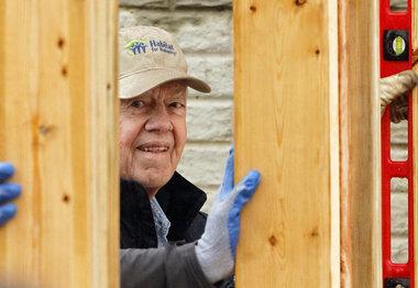 Jimmy Carter Habitat for Humanity 2010