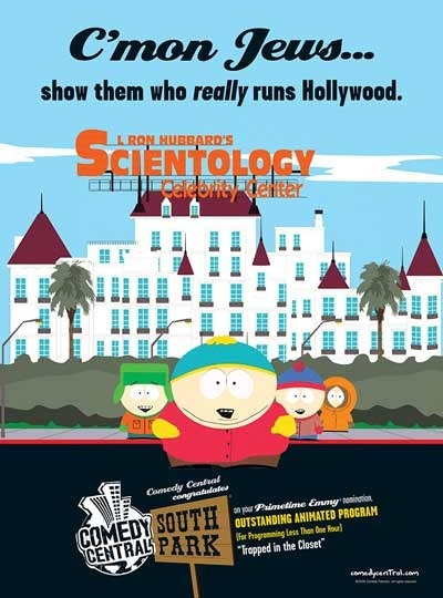 South Park Scientology Emmy ad
