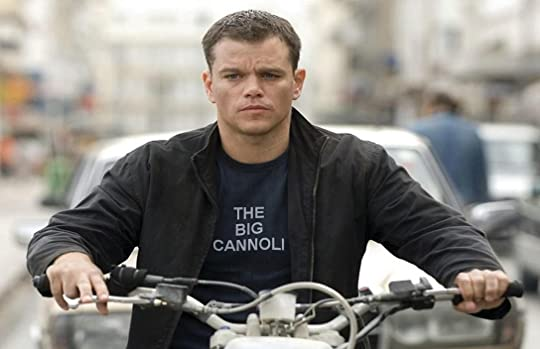 Jason Bourne the big Cannoli