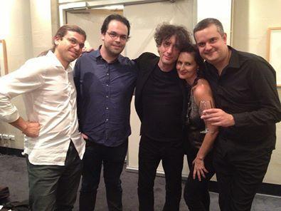 FourPlay with Neil Gaiman