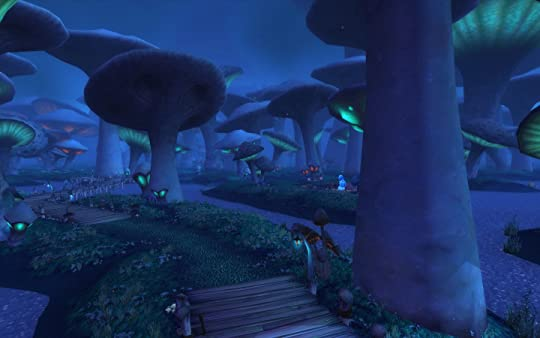 Also it reminds me of the endless hours I spent playing in the mushroom swamps in WoW