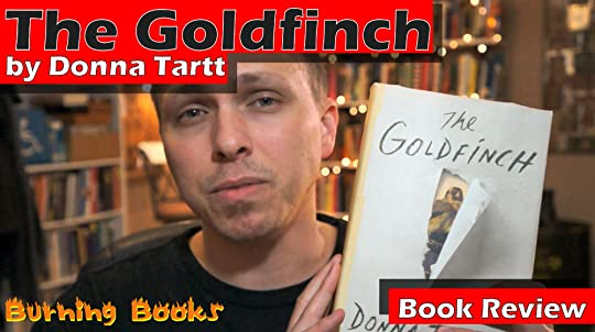 video book review of The Goldfinch by Donna Tartt