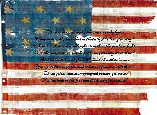 us flag in 1812 that inspired the star spangled banner photo: Star Spangled Banner Publication1.jpg