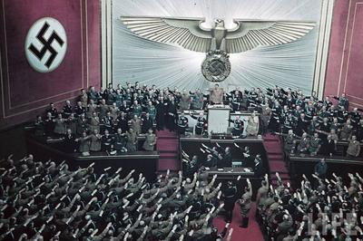 March 1933 Enabling Act at Reichstag