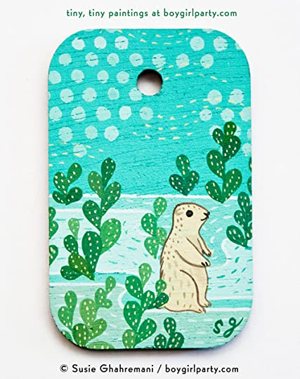 a50a08011 Prairie dog artwork by susie ghahremani / boygirlparty.com