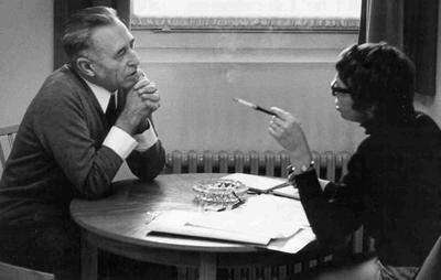 Gitta Sereny interviewing Franz Stangl at Dusseldorf