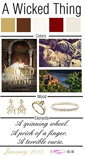 Book Mood Board: A Wicked Thing!
