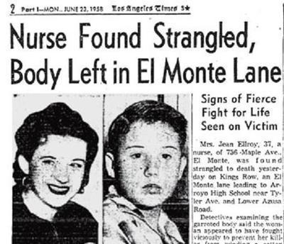 Jean Hilliker Elroy murder 1958
