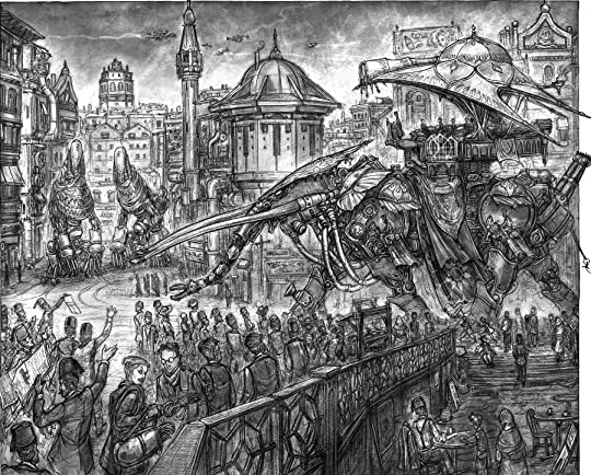 Behemoth (Leviathan, #2) by Scott Westerfeld