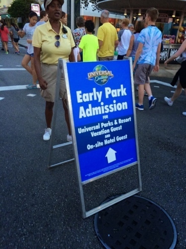 Image result for The Wizarding World of Harry Potter early admission