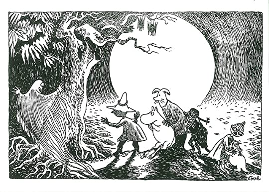 Moominpappa and the Ghost