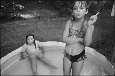 Amanda and Her Cousin Amy by Mary Ellen Mark