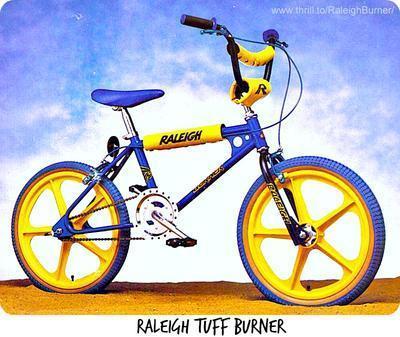 Raleigh Tuff Burner