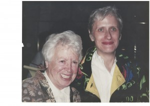 With Dorothy in 1994