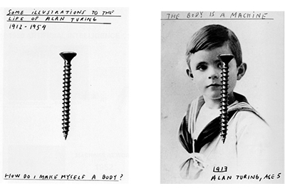 The Body is a Machine, Alan Turing Age 5