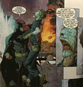 Batman volume 3 death of the family by scott snyder capullo earns every accolade hes received his art is clear yet moody grand in action and minimalist in creating moments and absolutely creepy when fandeluxe Images