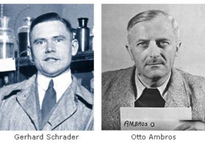 Gerhard Schrader and Otto Ambros