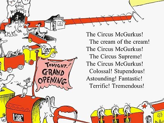 Dr Seusss All Aboard the Circus McGurkus (Board Book)