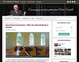 New Pastor's Blog