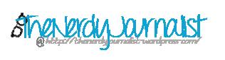The Nerdy Journalist book blog